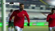 Mais um cruzamento de Diogo Gonçalves e Seferovic (com ajuda) faz o 2-0