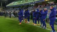 O desempate por penáltis entre Real Sociedad e Barça, com momento inusitado de Griezmann