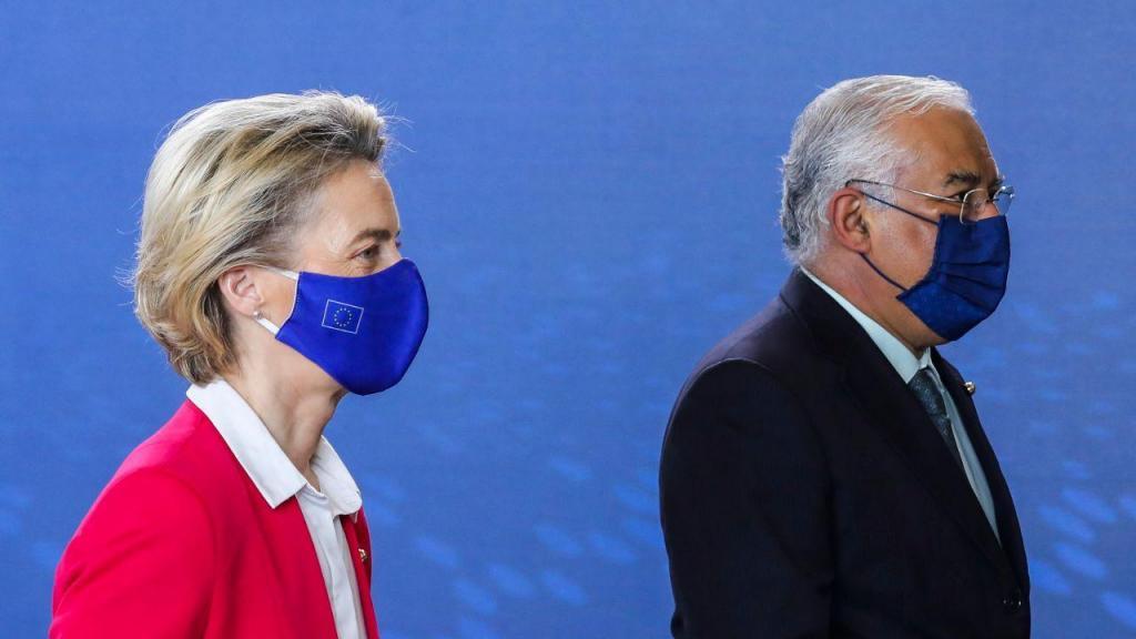 Portugal recebe Ursula Von Der Leyen