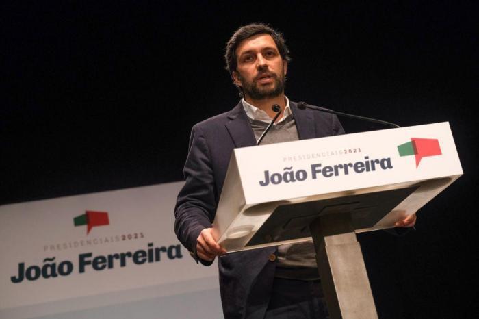 João Ferreira em Setúbal