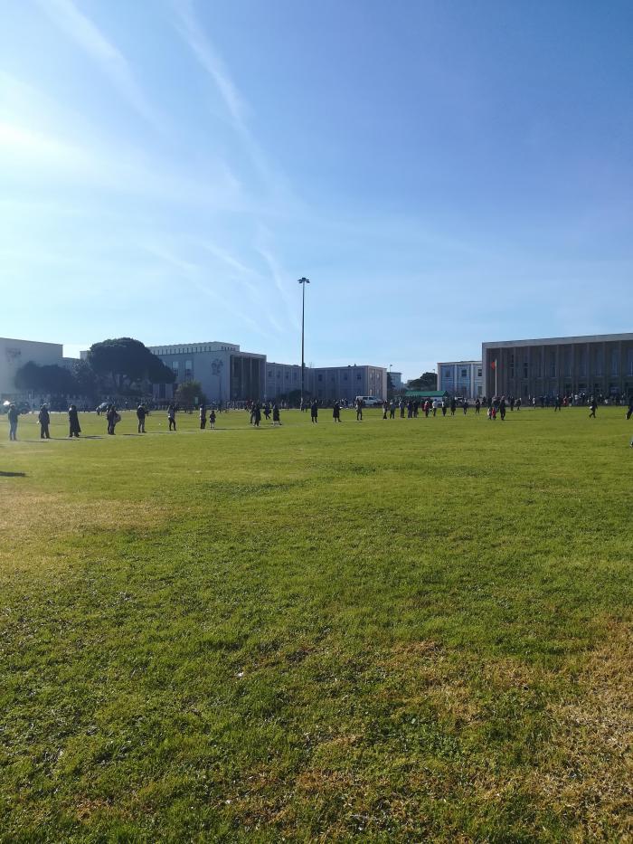 Filas para votar na Reitoria da Universidade de Lisboa