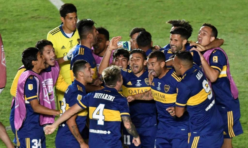 Boca Juniors vence Copa Diego Maradona (EPA/ANDRES LARROVERE)