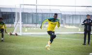Sporting voltou a Alcochete para preparar a final da Taça da Liga