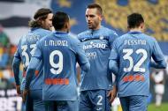 Muriel empatou para a Atalanta em Udine