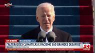 Joe Biden tomou posse como 46.º presidente dos EUA