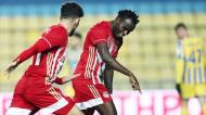 Bruma marcou na vitória do Olympiakos ante o Panetolikos na Taça da Grécia (Olympiakos)