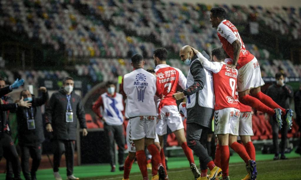 Taça da Liga: Sp. Braga-Benfica