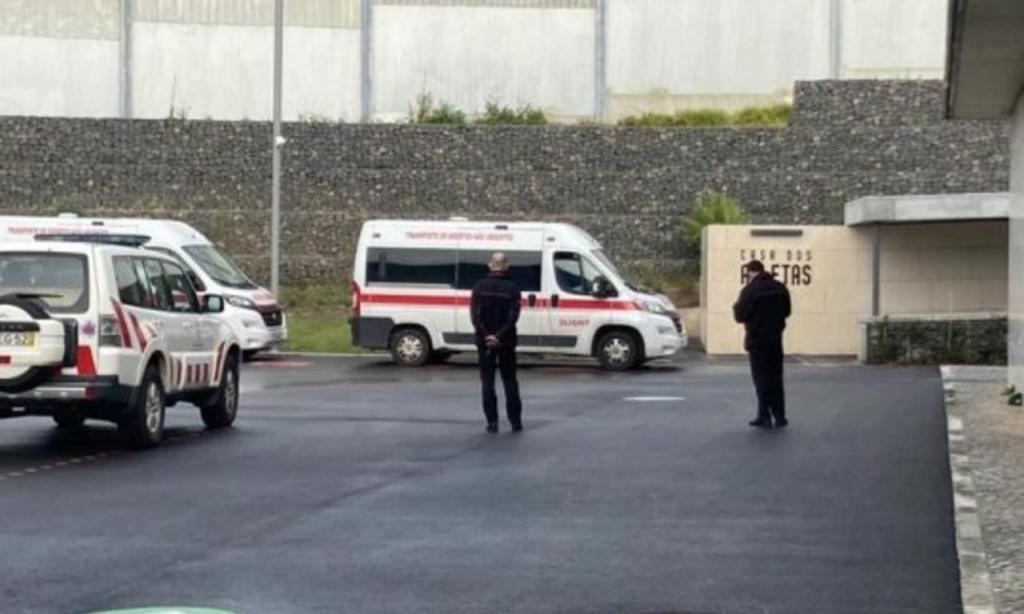 Cidade do Futebol já recebe doentes covid (foto FPF)