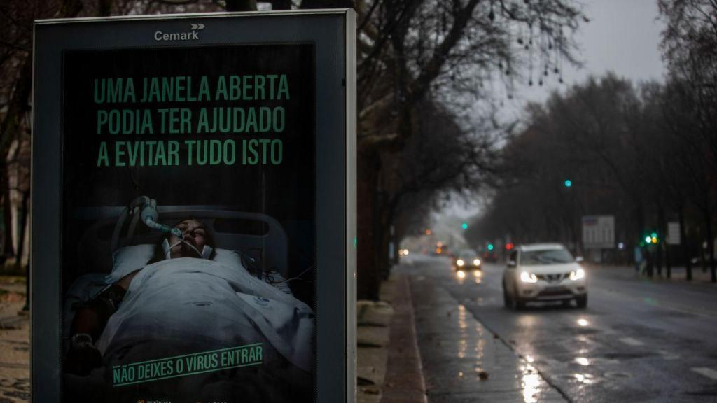 Imagens do confinamento em Portugal