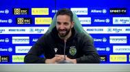 «Não vou dizer a equipa do Sporting, mas o Tiago Tomás já se desmarcarou»