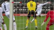 Grande trabalho de Bensebaini e Monchengladbach vira contra o Dortmund
