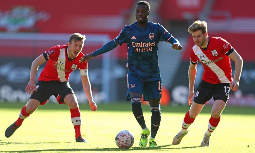 Southampton-Arsenal (AP)