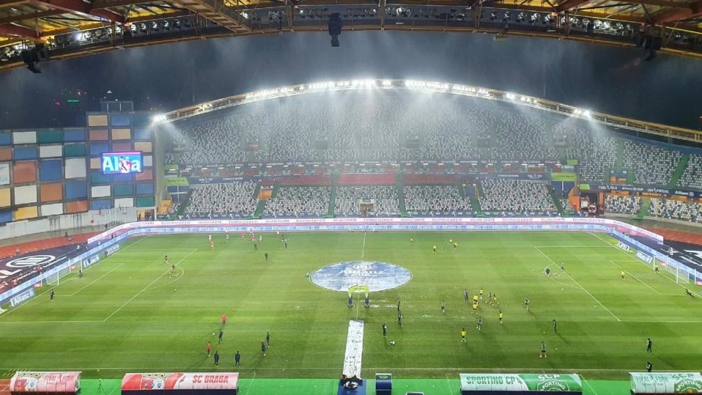 Final da Taça da Liga: Sporting-Sp. Braga, no Estádio Dr. Magalhães Pessoa (Sérgio Pires)