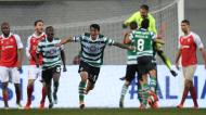 Pedro Porro, autor do golo da vitória do Sporting na Taça da Liga (LUSA)