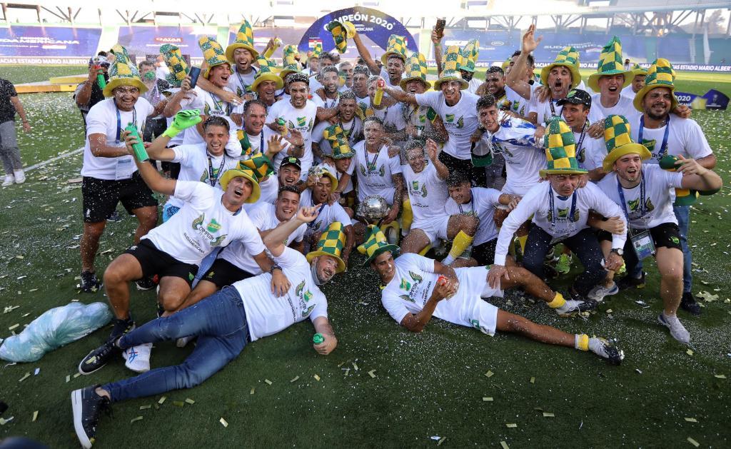 Defensa y Justicia vence Taça sul-americana (EPA)
