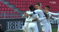 Ex-Sporting desviou a bola mas David deu a vitória ao Lille