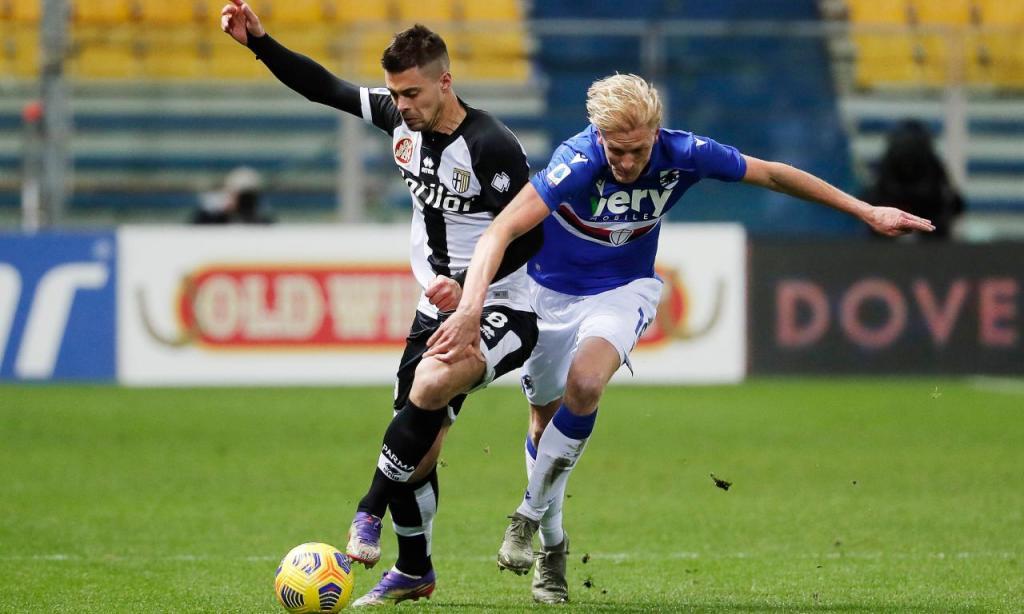 Parma-Sampdoria (Lusa)