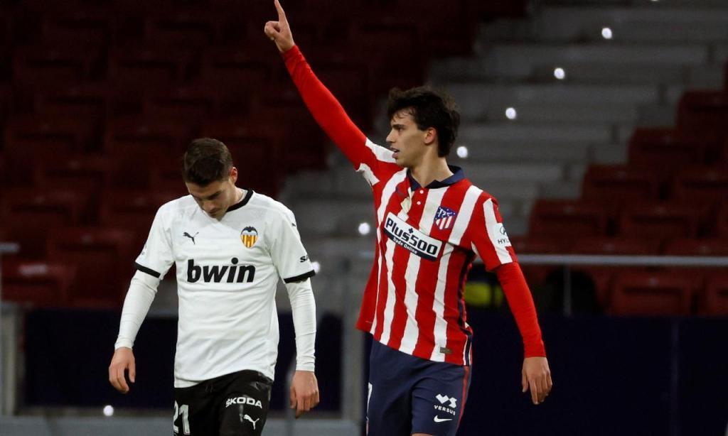 Atlético de Madrid-Valência (Lusa)
