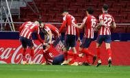5.º: Atlético Madrid, 2302 pontos