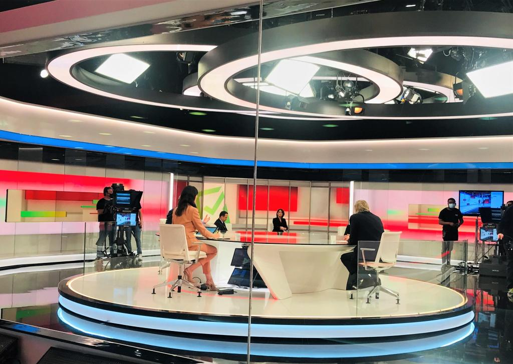 Presidenciais: a noite eleitoral na TVI