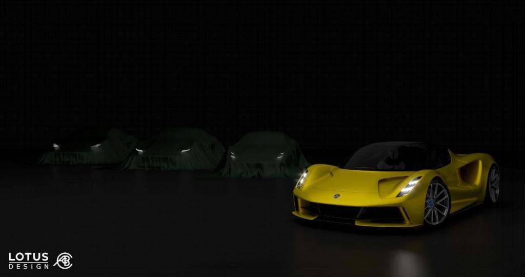 Nova série desportiva da Lotus