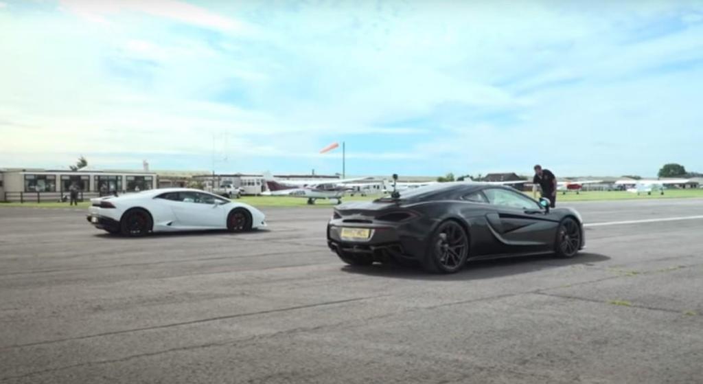 Lamborghini Huracán vs. McLaren 570GT