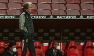 Jorge Jesus no Benfica-Nacional (Manuel de Almeida/LUSA)