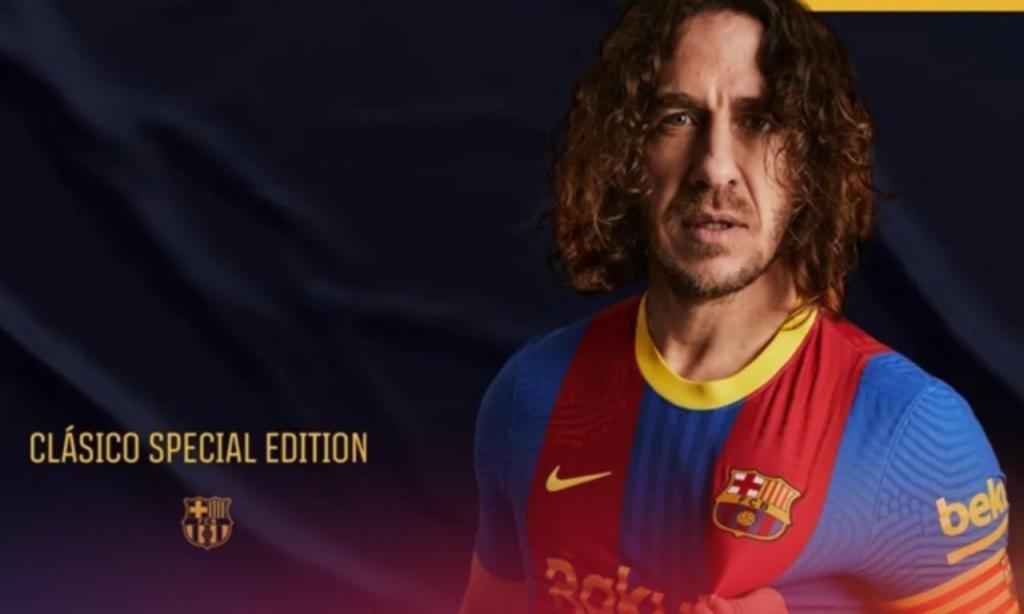 Barça lança camisola exclusiva para o clássico com o Real Madrid