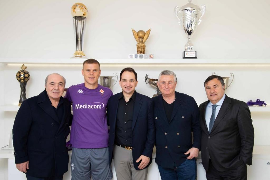 Kokorin é reforço da Fiorentina