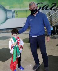 Seleção de andebol regressou a Portugal (fotos ESTELA SILVA/LUSA)