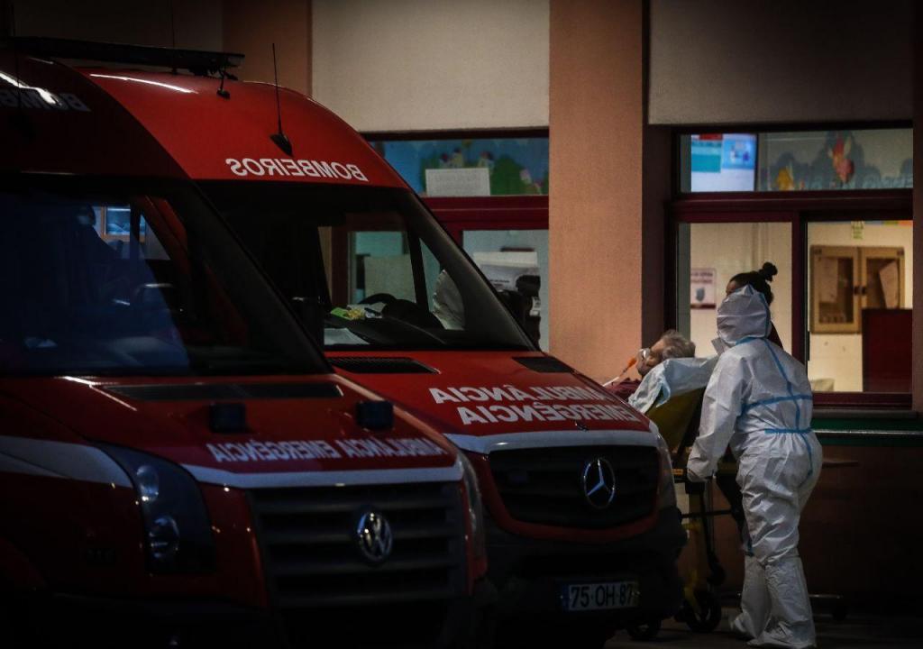 Transferência de doentes do Hospital Amadora-Sintra