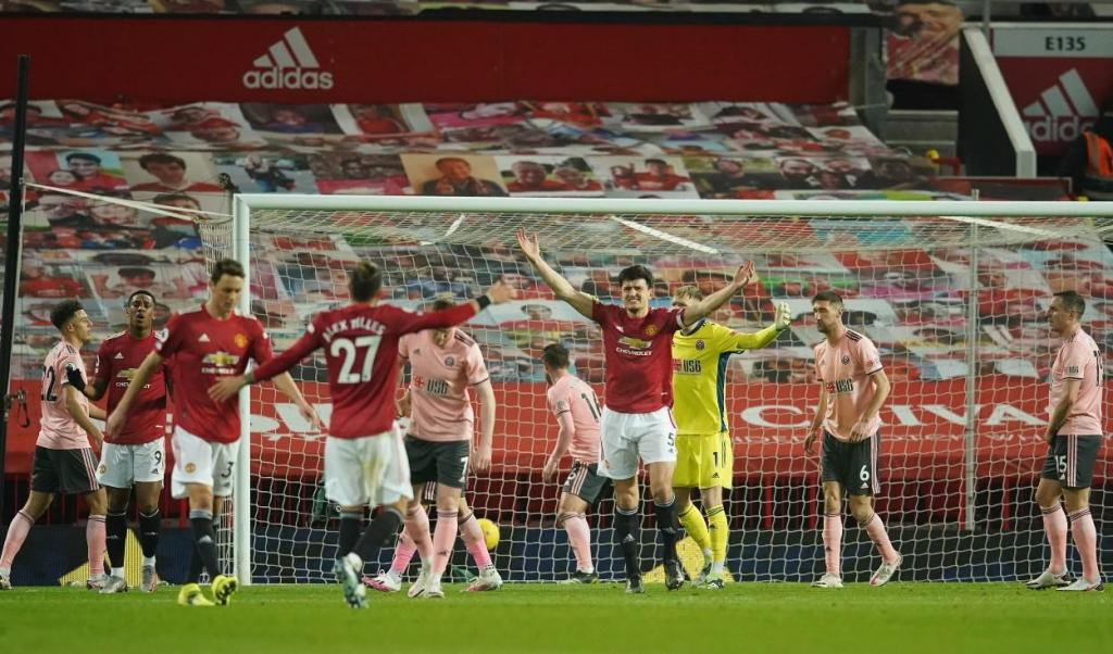 Manchester United-Sheffield United (Dave Thompson/EPA)