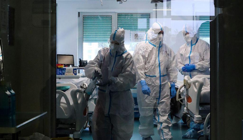 A adaptação do Hospital das Forças Armadas para fazer face ao combate à pandemia