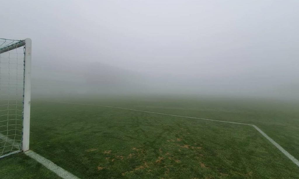 Nevoeiro na Covilhã dita adiamento do jogo com o Mafra