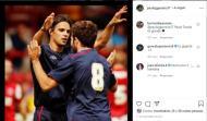 Paulo Jorge com Nuno Gomes, no Blackburn (foto: Instagram)