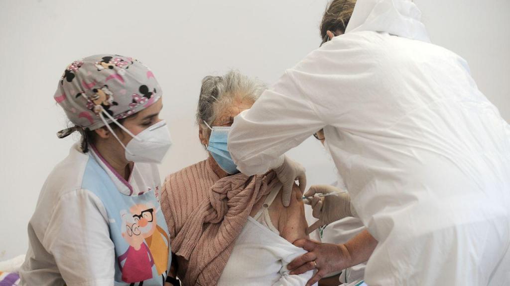 Vacinação em lares de idosos