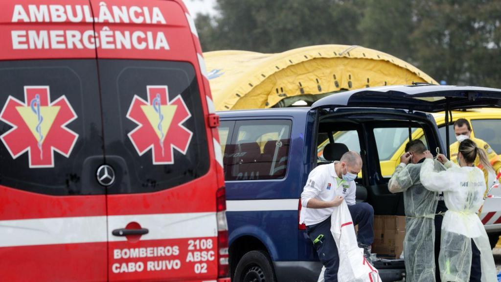 Pré-triagem covid-19 no Hospital de Santa Maria
