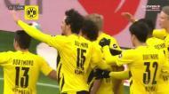 Depois de Haaland falhar penálti, Delaney fez o 1-1 para o Dortmund