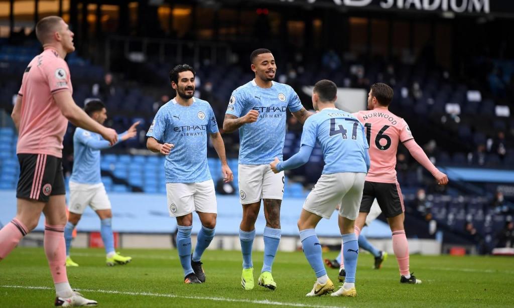Manchester City-Sheffield United