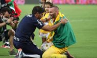 Palmeiras de Abel festeja conquista da Libertadores