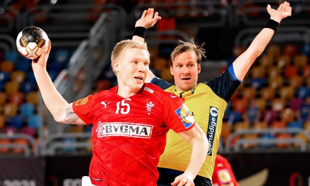 Mundial de andebol: Dinamarca-Suécia