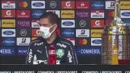 Abel não perdoa multa ao herói da Libertadores
