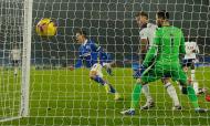 O golo de Leandro Trossard que decidiu o Brighton-Tottenham (Andrew Boyers/AP)