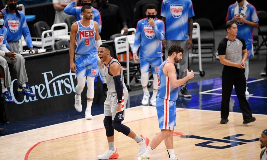 Washington Wizards-Brooklyn Nets
