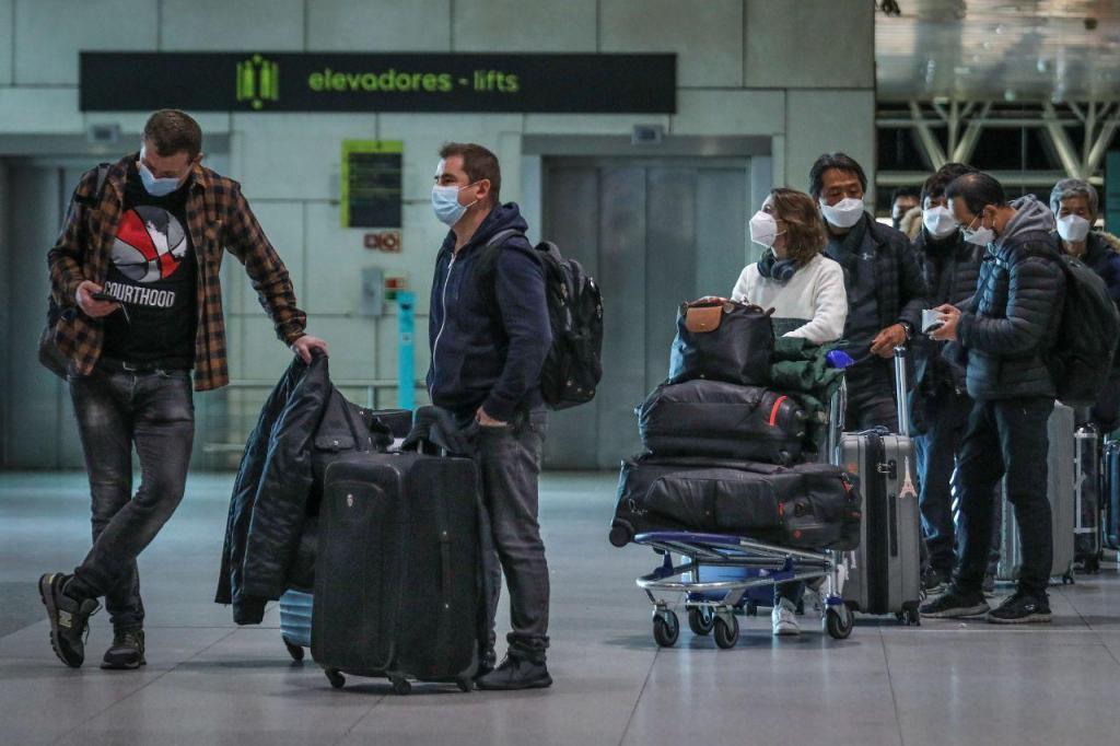 Confusão no Aeroporto de Lisboa