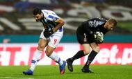 Taremi e Kieszek no FC Porto-Rio Ave (Estela Silva/LUSA)