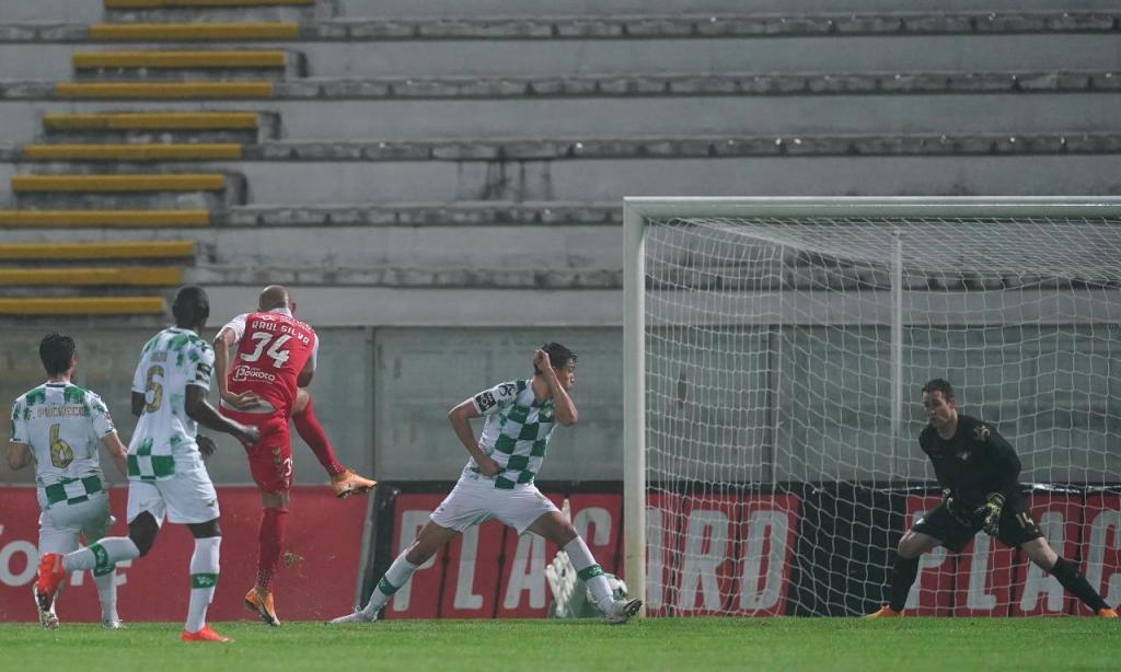 Moreirense-Sp. Braga (Lusa)
