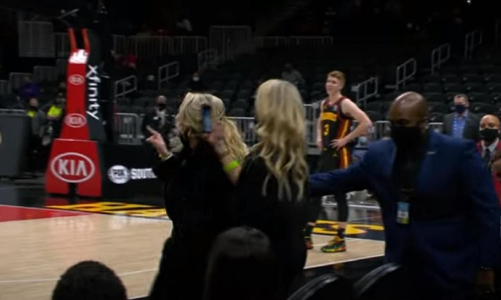 Jogo Hawks-Lakers