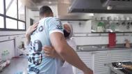 Lucas Veríssimo despediu-se do Santos no meio de muita emoção