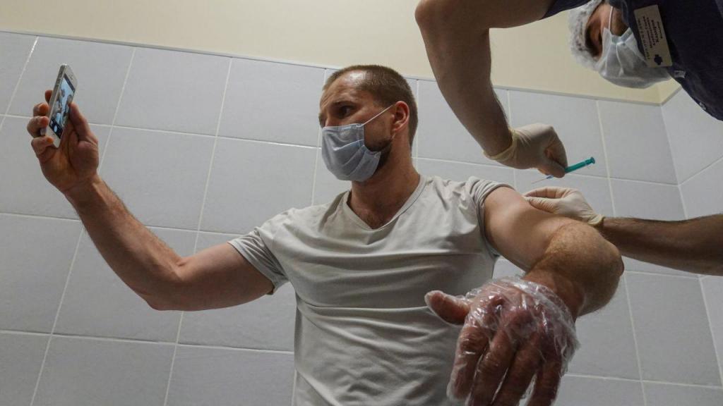 Vacinação contra a covid-19 na Rússia